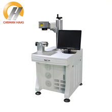 20W Desktop Fiber Laser Marking Machine Metal Marking 1064nm Laser Engraving Machine Metal Marking Machine 9mm max tube marking machine sticker 8m