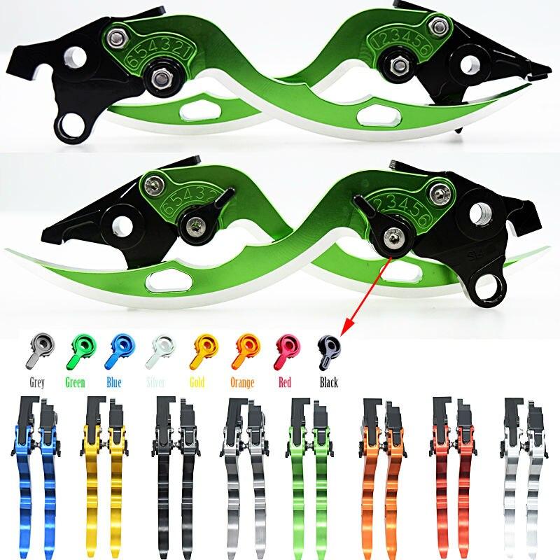 ФОТО  For Aprilia RSV MILLE / R 2004 2005 2006 2007 2008 MV F4 RR 2011-2016 Motorcycle CNC Adjustable Blade Brake Clutch Levers