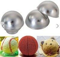 Creative 3D Sports Ball Shaped Cake Pan Baking Mold Set K4025