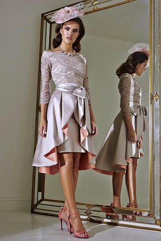 Plus-Size-2015-Mother-of-The-Bride-Dresses-Three-Quater-High-Collar-Purple-Lace-Short-Brides (1)
