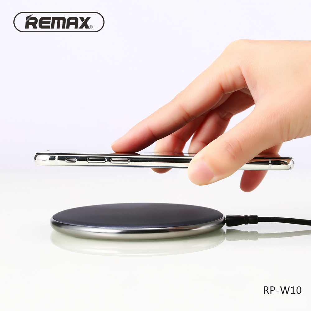 Remax Wireless Charger For iPhone X 10W Fast Charging Pad for Samsung Galaxy S8/S8 Plus/S9/S9 Plus S6/S7/Note 8 Wireless Charger
