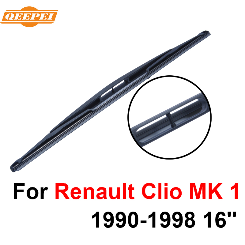 QEEPEI Rear Windscreen Wiper No Arm For Renault Clio MK 1