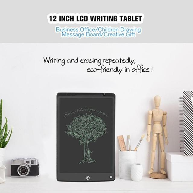 12 Inch LCD Writing Tablet Digital Drawing Tablet Handwriting Pads Portable Electronic Tablet Board ultra-thin Board with pen