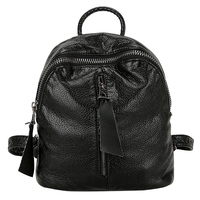 Spring Trendy Fashion Women Sheepskin Zipper Backpack Girls Female Casual Adjustable School Bag 2017 New Arrival