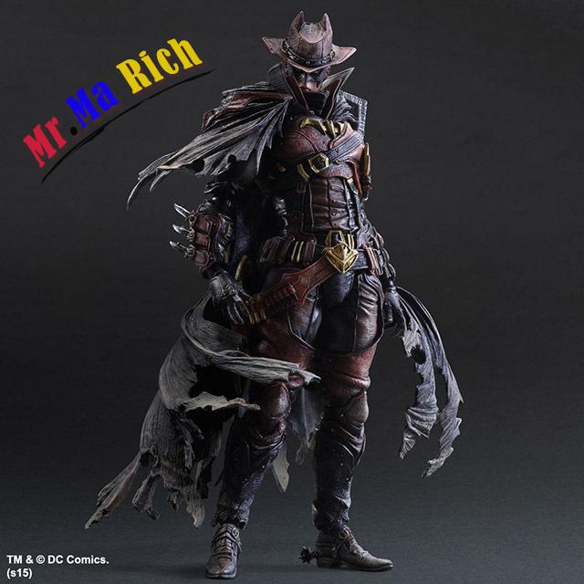 Square Enix Play Arts Kai Batman Timeless Wild West Red Ver. Pvc Action Figure Collectible Model Toy 27cm alen play arts kai batman timeless wild west red ver pvc action figure collectible model toy 27cm