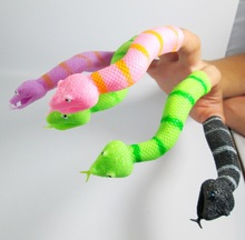 6PCS,The new environmental protection refers to the dual story Mini snake style finger toy practical joke,anime,hand puppet