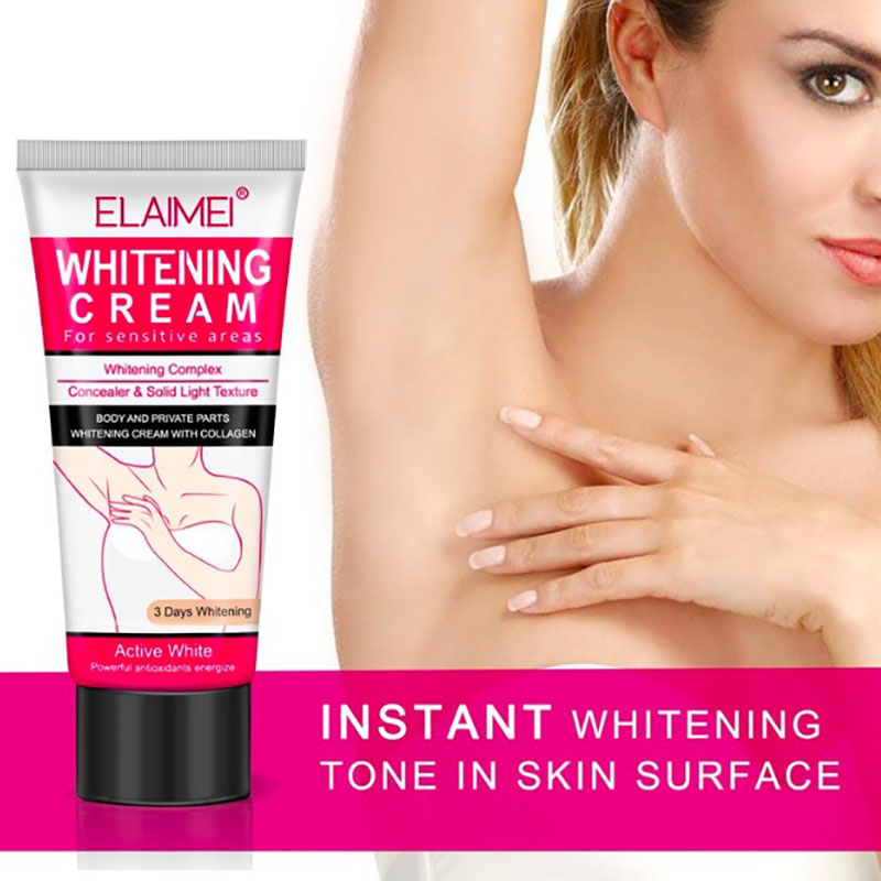 Armpit Whitening Cream Body Dark Skin Underarm Legs Knees Private Parts Bikini Underarm Inner Thigh Body Whitening Cream