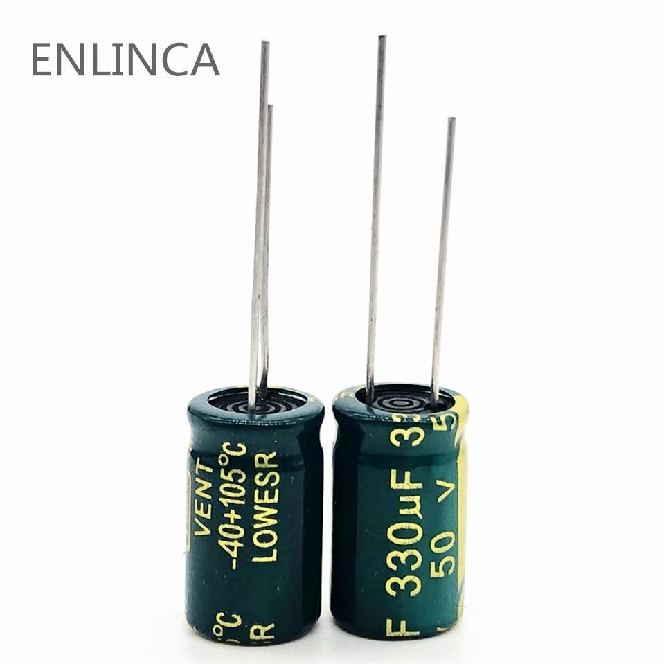 5pcs 330uF 6.3V 6.3x11mm Nichicon FW 6.3V330uF High Grade HiFi Audio Capacitor