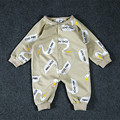 New Baby rompers swan print long sleeve Toddler Jumpsuit Infant jumpsuits newborn baby girls boys clothes