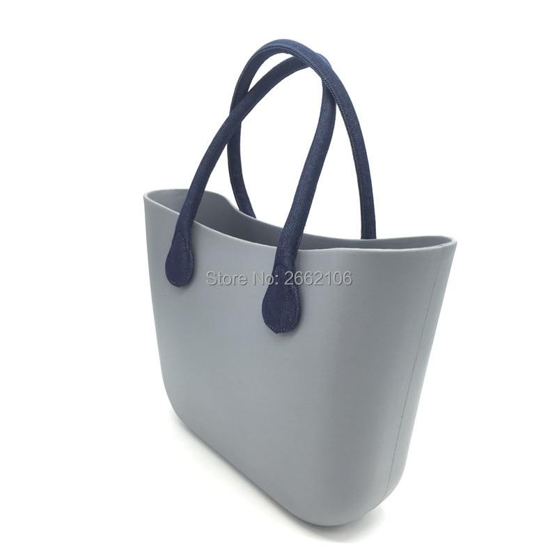 1 pair 2 pcs 65cm Long size denim fabrics Handles womens bags hemp shoulder bag handbag handle fit for o bag