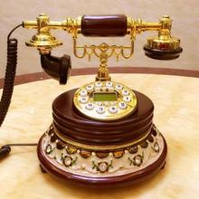 European style retro antique  American household telephone