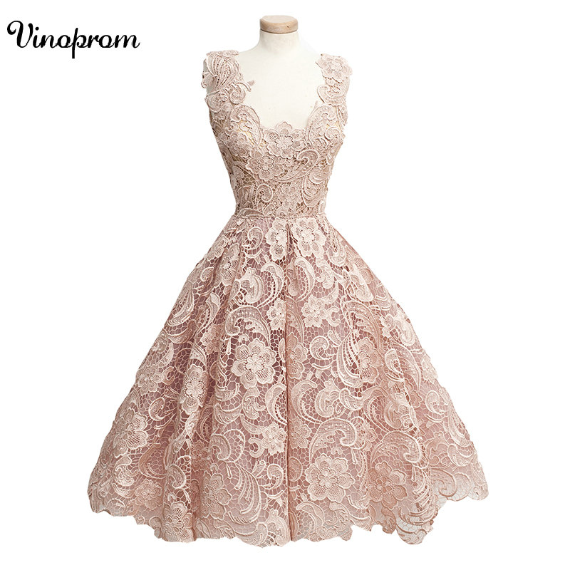 Open Back 2017 A-line V-Neck Short Mini Chiffon Lace Feather Short Elegant   Cocktail     Dresses   Mini Homecoming   Dresses