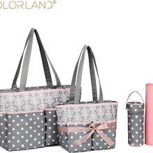 Colorland модная, для детских подгузников Сумка Сумки для подгузников; сумка для беременности и родам Изменение Многофункциональный по уходу за ребенком для инвалидной коляски