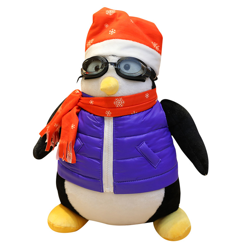 "18/"" Joey/'s Friend HUGSY Plush PENGUIN Doll Kids Stuffed Soft Toy Cushion Gift"