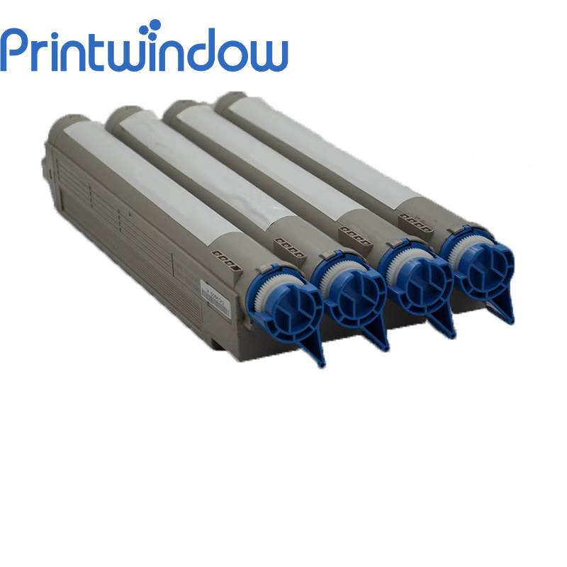 Printwindow Compatible Toner Cartridge for OKI ES3640/3640E 4 pack high quality toner cartridge oki mc860 mc861 c860 c861 color printer full compatible 44059212 44059211 44059210 44059209