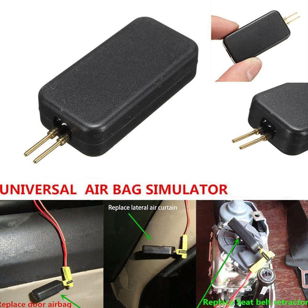Universal Car Accessories SRS Airbag Simulator Resistor Bypass Fault Finding Diagnostic Tool Car Auto Truck New