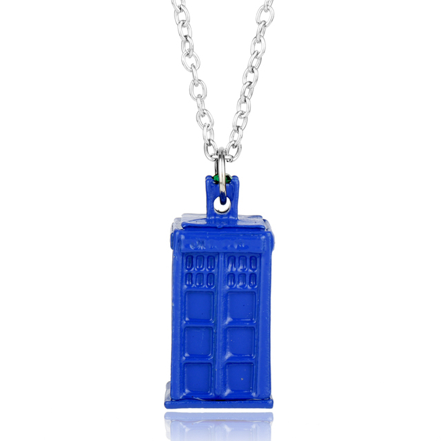 Hanchang necklace jewelry blue police hall doctor who tv jewelry hanchang necklace jewelry blue police hall doctor who tv jewelry pendants necklace for man cosplay aloadofball Image collections