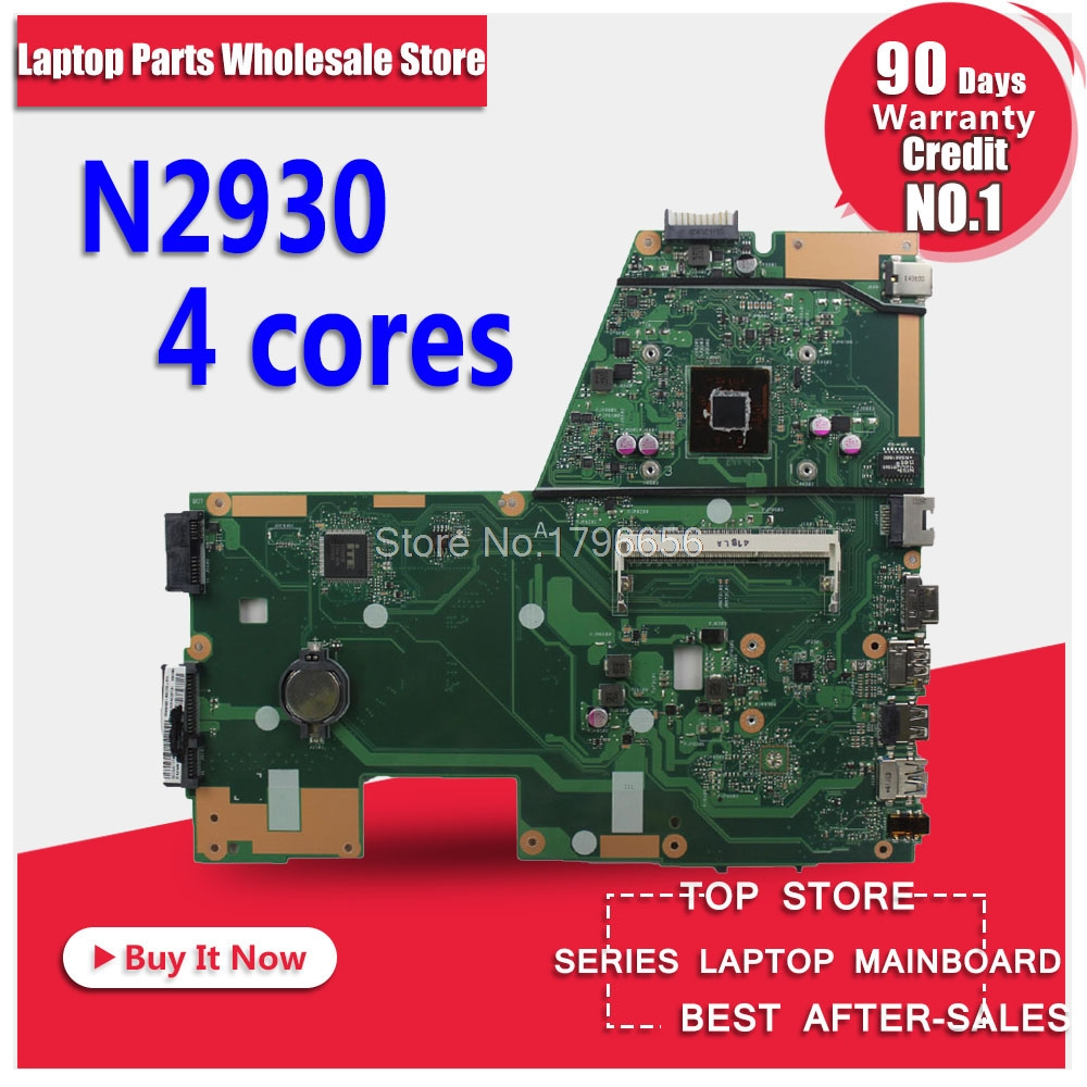 4cores N2930 1.833GHZ CPU X551MA Motherboard For ASUS F551MA X551MA D550M laptop Motherboard X551MA Mainboard X551MA Motherboard 50cm new power adapter cable 15 pin sata male to dual molex 4 pin ide hdd female