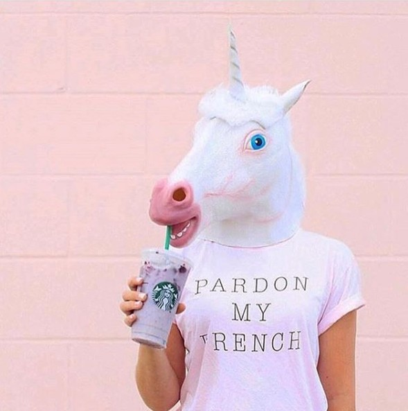 2834a815051b 2018 Unicorn Horse Latex Mask Halloween Creepy Party Deluxe Novelty Costume  Party Cosplay Prop Rubber Creepy Head Full Face Mask