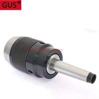 Thread M10 MT2 APU13 APU16 morse taper Keyless self tight drill chuck holder range 1 13mm,1 16mm CNC Milling tools
