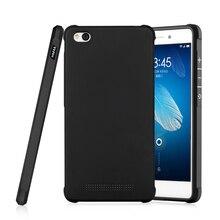 Для redmi mi 4а case силиконовые задняя крышка luxury защитный противоударный телефон оболочки xiomi redmi mi 4а полная крышка