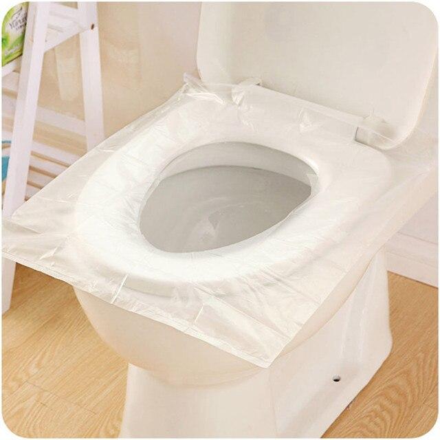 12 pz Universale Igienici Usa E Getta Sticker Tavolette copriwater Viaggi D'affa