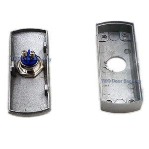 Image 3 - 도어 출구 버튼 푸시 릴리스 합금 플레이트 스틸 버튼 스위치 표면 장착 12 v 36 v 모든 종류의 좁은 도어 프레임 용