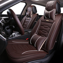 Universal PU Leather car seat covers For Audi A6L R8 Q3 Q5 Q7 S4 RS Quattro A1 A2 A3 A4 A5 A6 A7 A8 auto accessories car sticker(China)