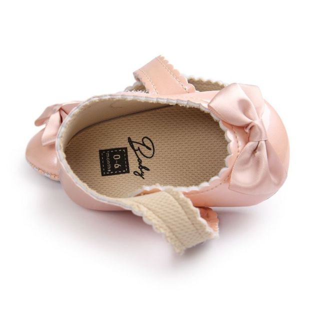 Soft PU Leather Baby Crib Shoes