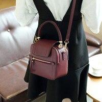 LKX Vintage Mini Crossbody Bag Ladies Leather Handbag Motorcycle Messenger Top Handle Bag Small Square Hand Bags For Women