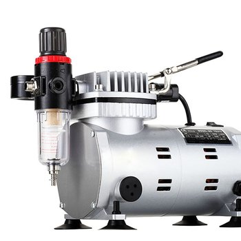 Painted airbrush wall painting air pump automatic switch portable air pump JTC20 silent oil-free air compressor