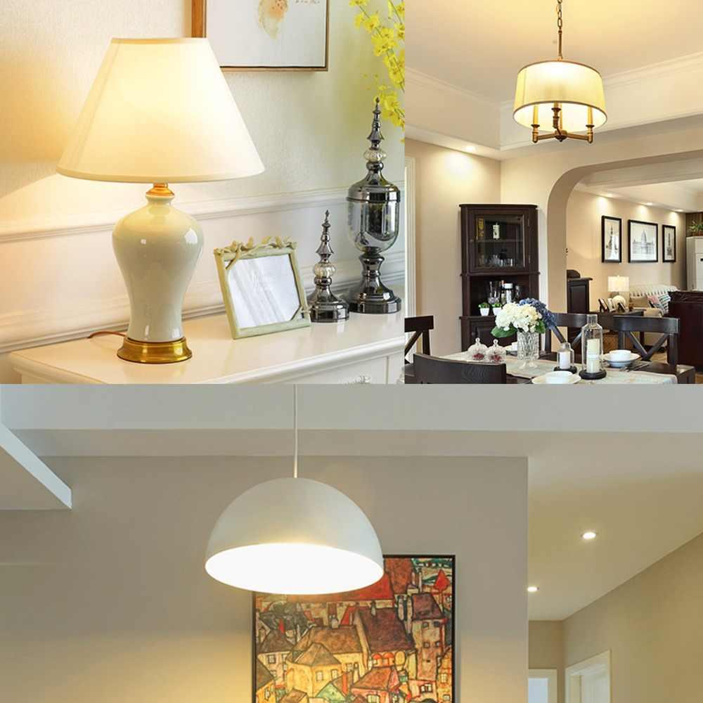 220V E27 E14 светодиодный лампы для Кухня Гостиная домашнее украшение люстра Светодиодный светильник 24 36 48 56 69 72 светодиодный s Bombillas светодиодный