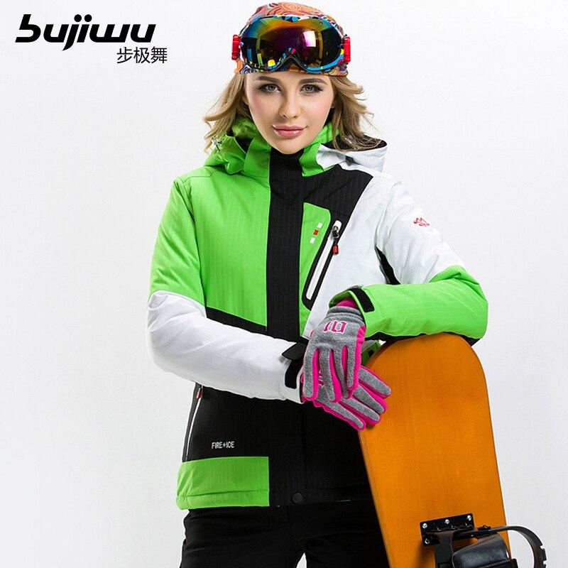 Prix pour Livraison gratuite La nouvelle 2017 veste de ski professionnel, professionnel ski veste, super chaud, imperméable et coupe-vent veste de ski