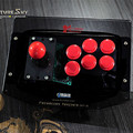 High quality Acrylic PC USB computer arcade joystick gamepad game controller joypad, plug and play handle Free shipping