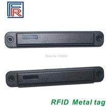 5 adet Anti metal RFID UHF su geçirmez yüksek sıcaklık dayanımı UCODE G2XM ISO18000 6C etiketi