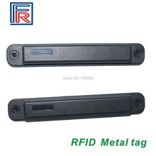 Etiqueta UCODE G2XM ISO18000 6C 5 uds Anti metal RFID UHF resistente al agua y a altas temperaturas