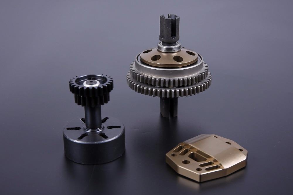 1 5 scale rc baja parts Rovan LT Truck new spare parts LT CNC alloy double