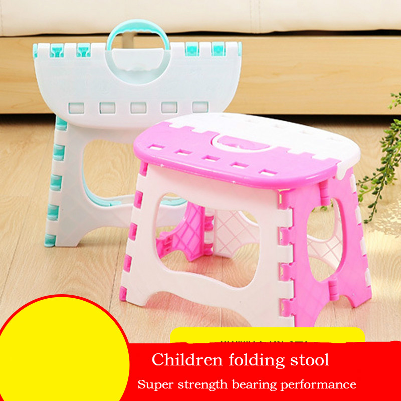 Children's Stools Portable Stool Bench Collapsible Stool Fishing Mazar Small Chairs Outdoor Plastic Chairs