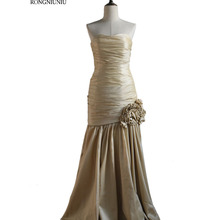 Mother Of The Brige Dress Evening Long Champagne Lace Up Plu
