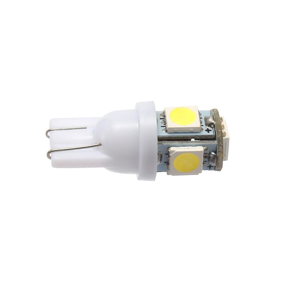 HTB1hJJZliCYBuNkHFCcq6AHtVXaL 10PCS Led Car DC 12v Lampada Light T10 5050 Super White 194 168 w5w T10 Led Parking Bulb Auto Wedge Clearance Lamp