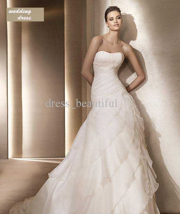 NEWEST High End European And American Wedding Dress
