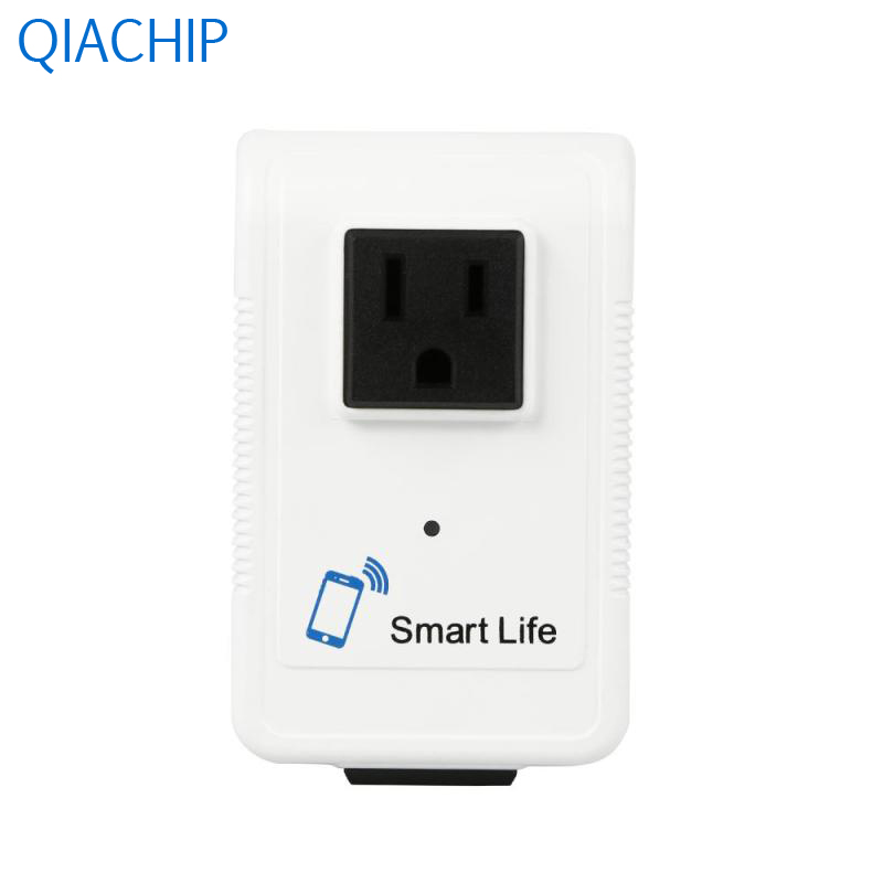WiFi Smart Pop Socket Smart WiFi Plug Schedule Function Remote Control Energy Saving App Dual Outlets Easy Installation US Plug app operation intelligent light led bulb wifi phone remote control smart protect eyesight energy saving colorful bright lamp