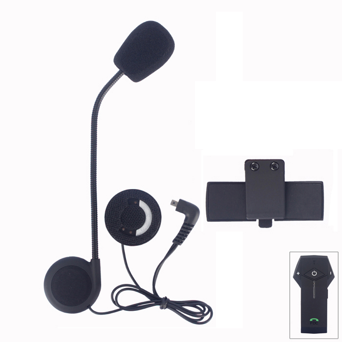 COLO Microphone Speaker & Clip Accessories Suit For COLO Motorcycle Bluetooth Interphone Free Shipping!