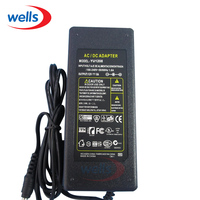AC110 240V To DC 12V 8A Power Supply UK US EU Adapter Plug For 3528 5050