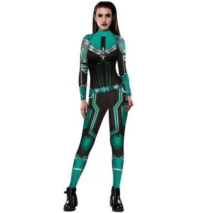 Image 5 - Женский костюм капитана, маскарадный костюм на Хэллоуин, нарядное бальное платье, новинка 2019
