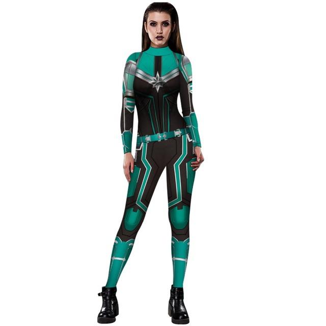 New Captain Marvel Carol Danvers Cosplay