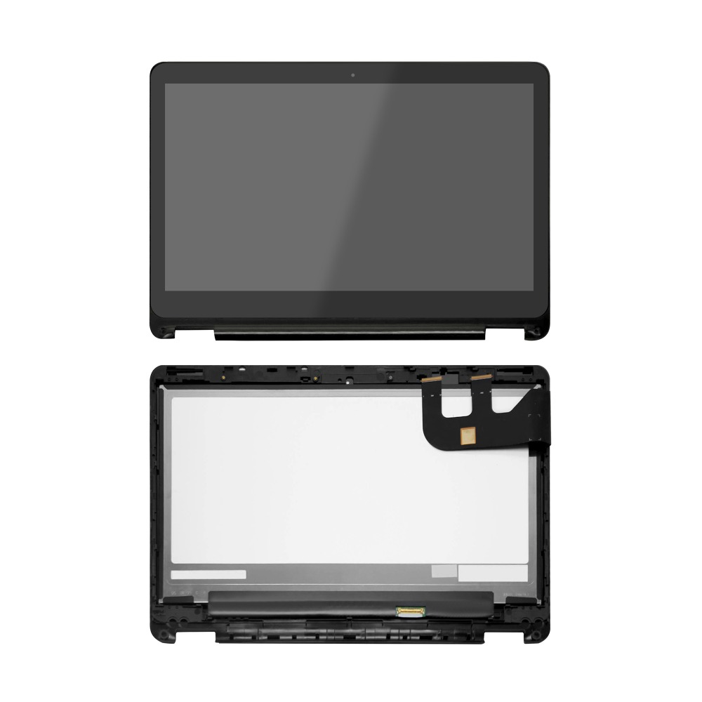 HB133WX1-402 N133HSE-EA3 13'' LED LCD Touch Screen Digitizer Glass With Bezel For Asus TP301 TP301U TP301UA TP301UA-DW 13 3 inch lcd touch screen assembly for asus tp300 tp300la left connector n133hse ea3 1920 1080