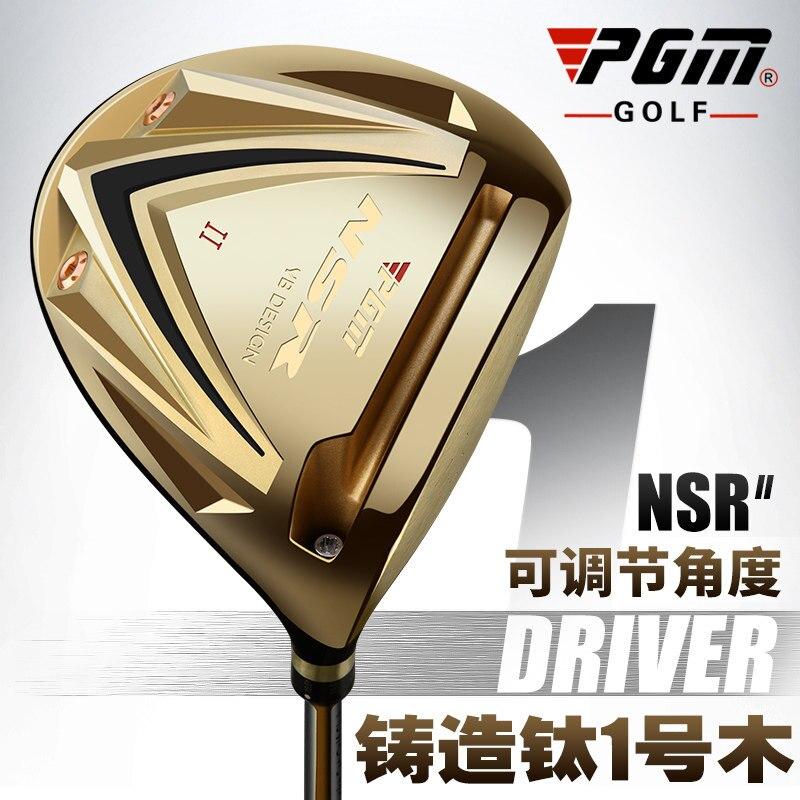 PGM titane Golf pilote tête Clubs Fairway bois 1/3/5 R main droite hommes en bois or Tee fer-bois noir Graphite Palos De Golf