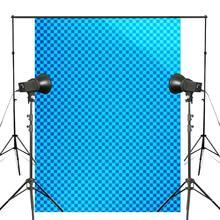 5x7ft Blau Abstrakte Hintergrund Bild Fotografie Kulisse Kunst Foto Studio Requisiten Wand Hintergrund