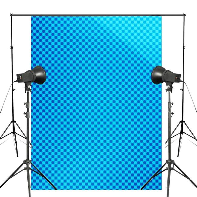 5x7ft Blue Abstract Background Image Photography Backdrop Art Photo Studio Props Wall Backdrop